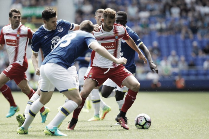 Com gol de Baptistao, Espanyol vence Everton; Real Sociedad fica no empate com Middlesbrough