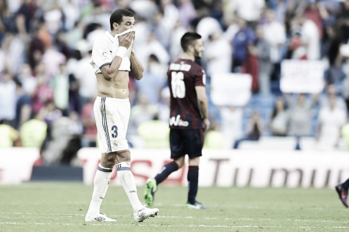 Real Madrid empata com Eibar em casa e chega a terceiro empate seguido no Espanhol