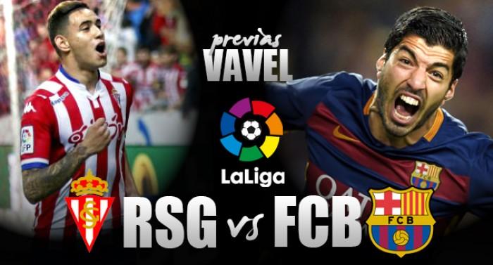 Sem Messi, Barcelona visita Sporting Gijón de olho na liderança da Liga