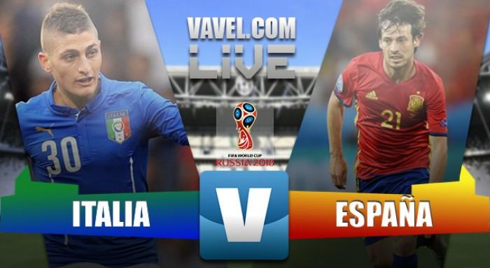 Itália empata com a Espanha pelas Eliminatórias para a Copa do Mundo de 2018 (1-1)