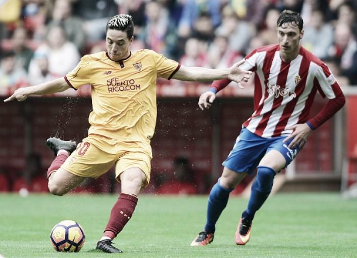 Sevilla empata com Gijón fora de casa e perde chance de assumir liderança provisória