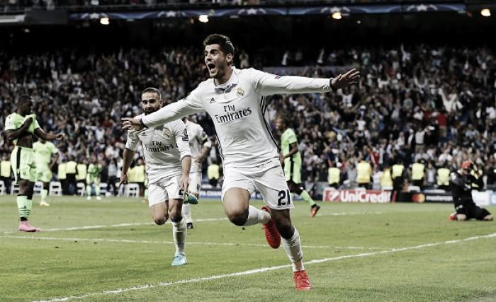 Real Madrid joga mal, mas vira sobre Sporting no fim na estreia da UCL