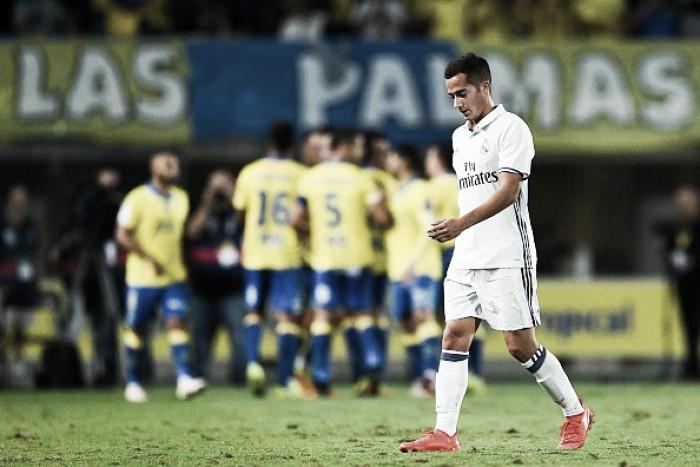 Real Madrid sofre empate do Las Palmas no fim, mas segue líder do Espanhol