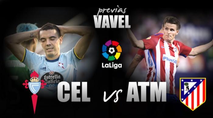 Atlético de Madrid visita Celta de Vigo visando esquecer péssimo início