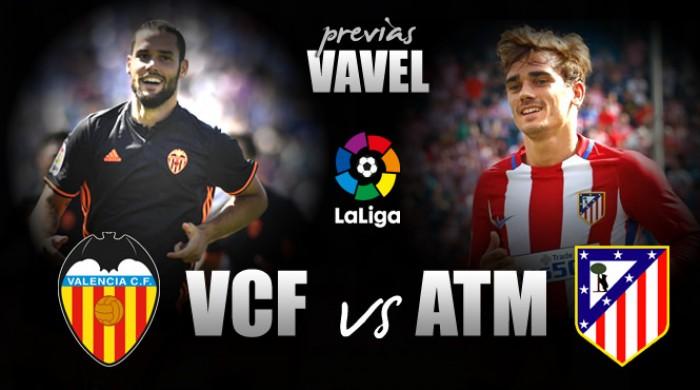 Embalados no campeonato, Valencia e Atlético de Madrid travam duelo de opostos