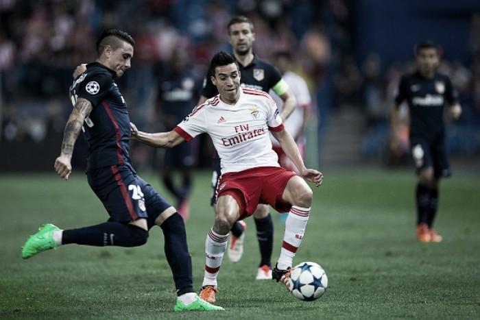 Atlético de Madrid oficializa acerto com meia argentino Nico Gaitán, ex-Benfica