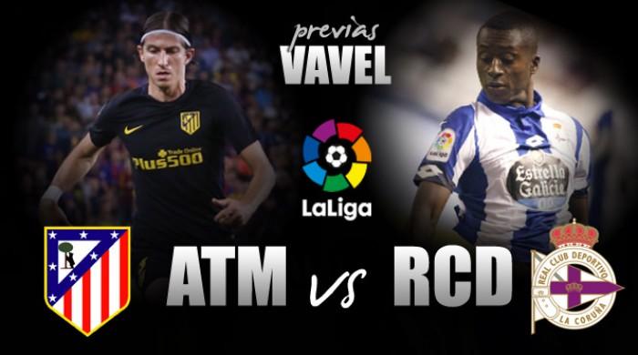 Atlético de Madrid recebe Deportivo La Coruña visando encostar nos líderes