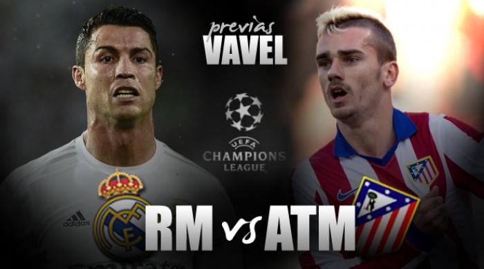 Atlético de Madrid tenta escrever o nome na história da UCL contra recordista Real Madrid