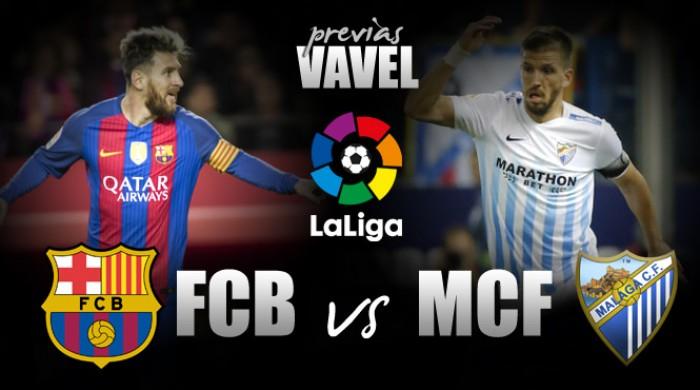 Com Neymar e Messi em alta, Barcelona recebe Málaga visando a liderança do Espanhol