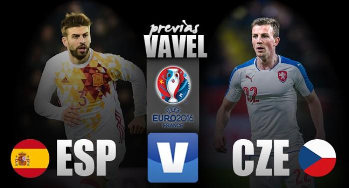 Atual bicampeã, Espanha encara República Tcheca na estreia da Euro
