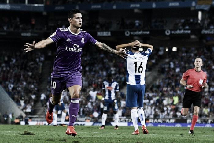 Sem sustos, Real Madrid vence Espanyol e iguala recorde de vitórias seguidas na Liga