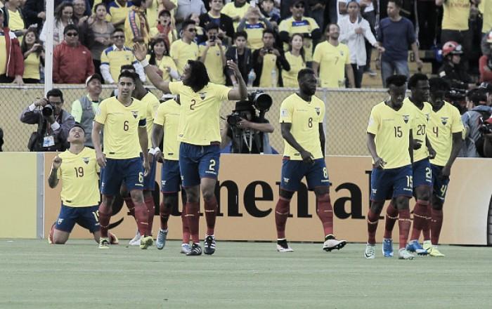 Equador domina do início ao fim e vence Chile com tranquilidade em Quito