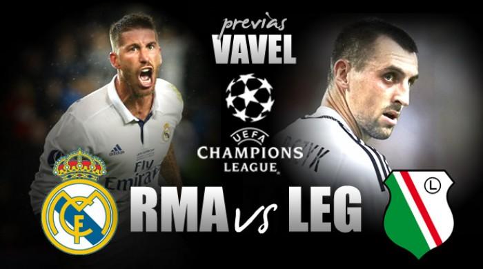 Com equipe mista, Real Madrid recebe Legia Varsóvia de olho na liderança do Grupo F