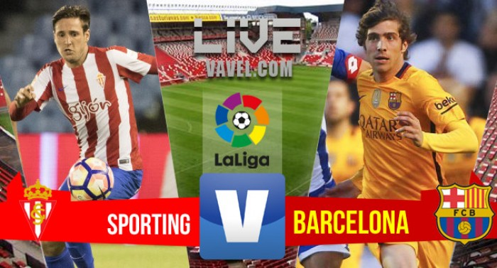 Resultado Sporting x Barcelona pelo Campeonato Espanhol 2016/2017 (0-5)
