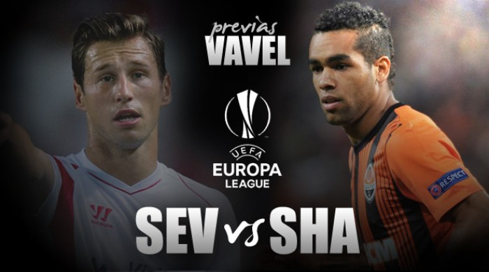 Sevilla recebe Shakhtar buscando ir à terceira final seguida de Europa League