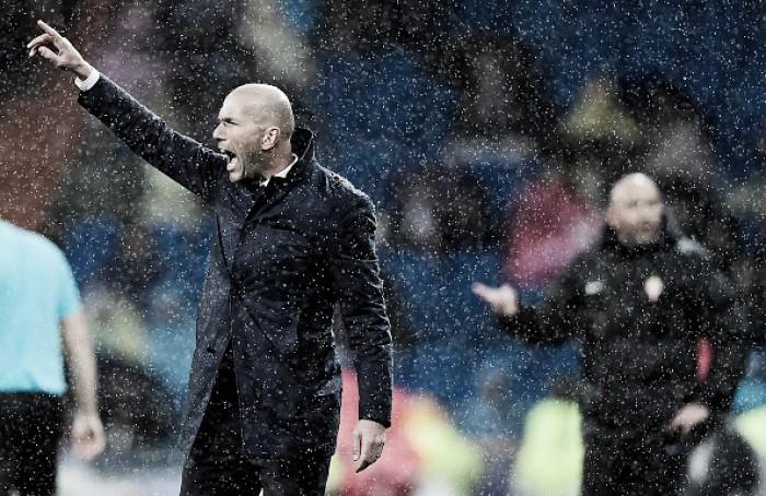 Mesmo com vitória, Zidane lamenta atuação abaixo da média do Real Madrid