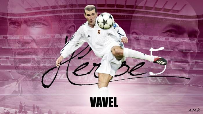 Zidane: do gol do título em Glasgow à beira do campo em Milão