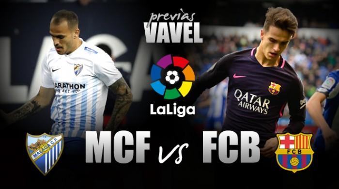 Na Andaluzia, Barcelona encara Málaga para se manter vivo na luta pelo título espanhol