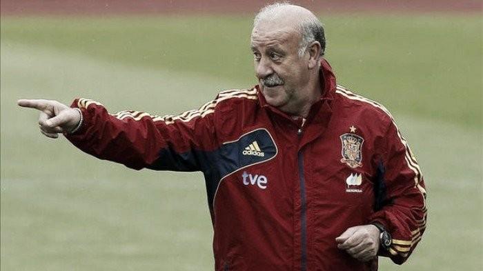Del Bosque mostra otimismo e destaca Espanha como favorita por ser última campeã da Euro