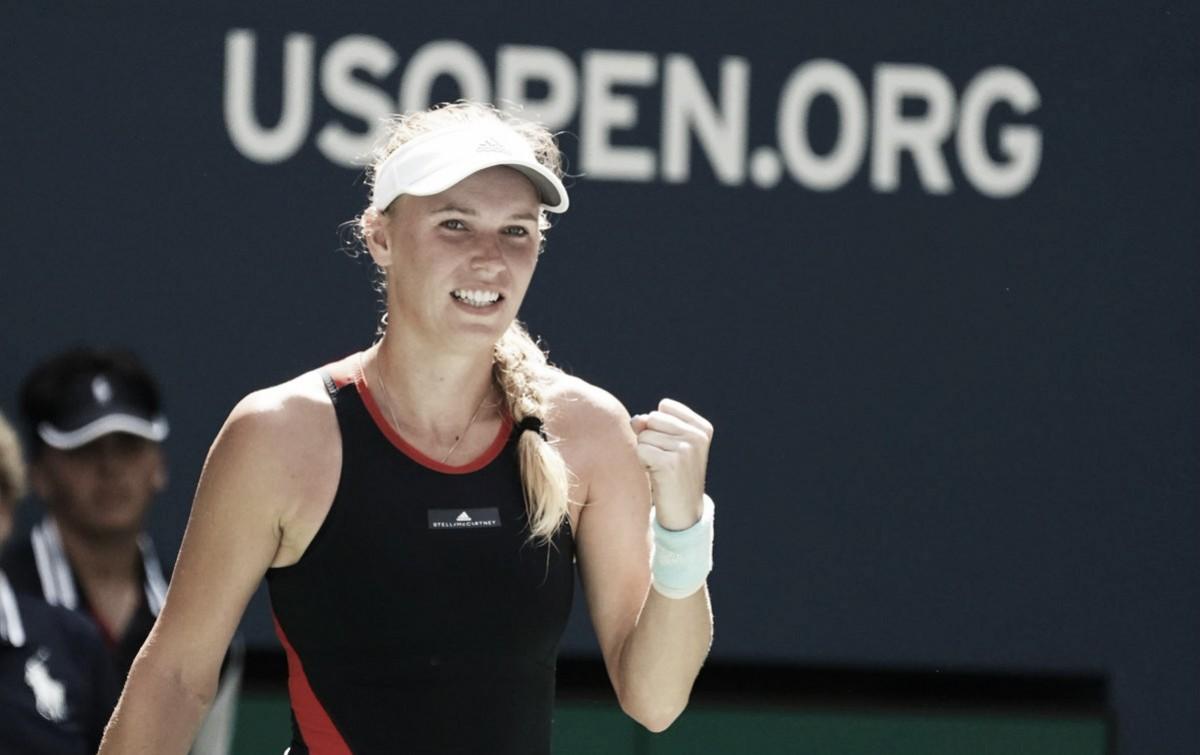 Wozniacki faz jogo seguro e elimina Stosur na estreia no US Open