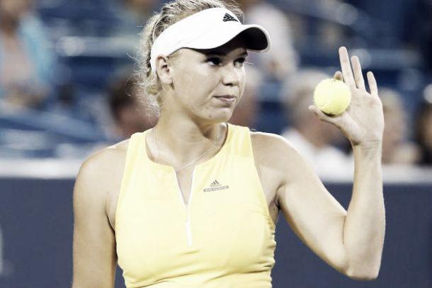 WTA New Haven: buon inizio per la Wozniacki