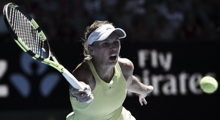 Espectacular remontada de Wozniacki en segunda ronda