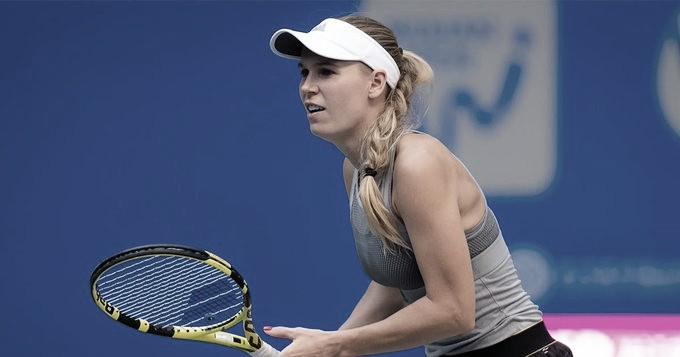 Atual campeã, Wozniacki estreia com vitória fácil sobre Davis em Pequim