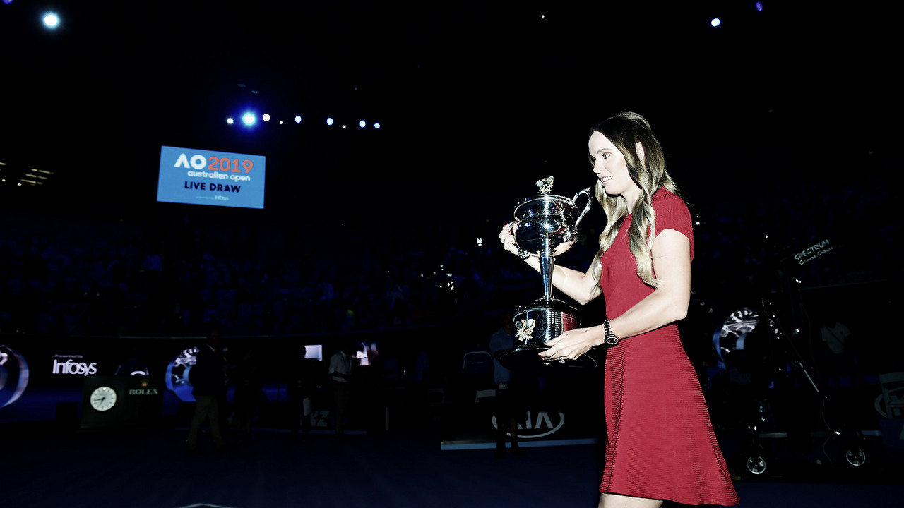 Chave feminina do Australian Open é sorteada; Halep reencontra algoz do último Slam