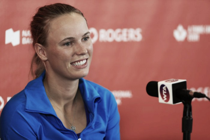 Caroline Wozniacki staying positive despite finals loss