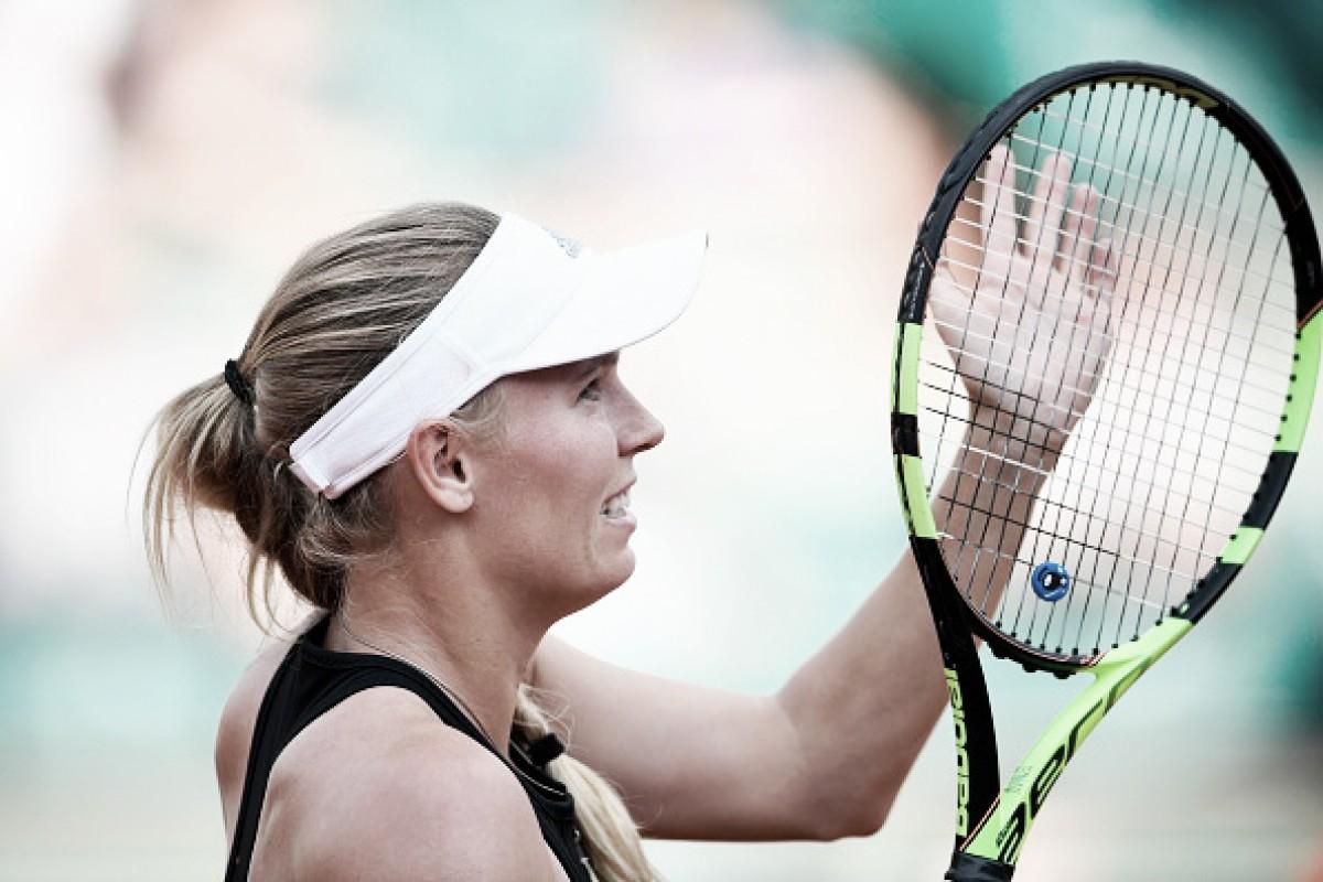 Wozniacki perde apenas um game e despacha qualifier García Pérez na segunda rodada em Paris