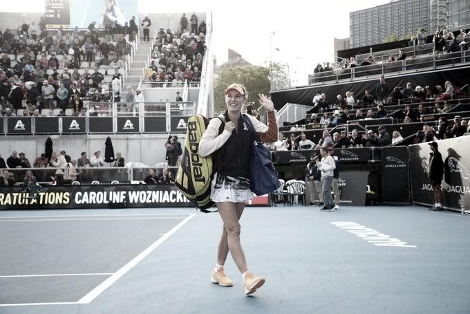 Wozniacki elimina atual bicampeã Goerges e avança em Auckland
