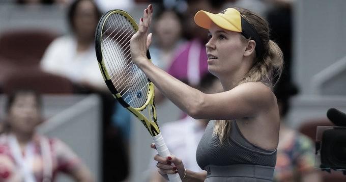 Atual campeã, Wozniacki bate Kasatkina em Pequim e alcança segunda semifinal no ano