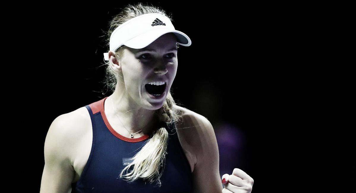 Wozniacki supera Kvitova e deixa Grupo Branco do WTA Finals em aberto
