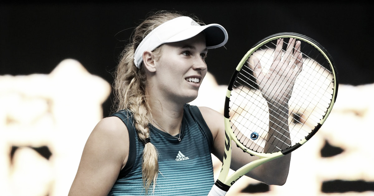 Wozniacki supera Sasnovich em Miami e vence primeira desde o Australian Open