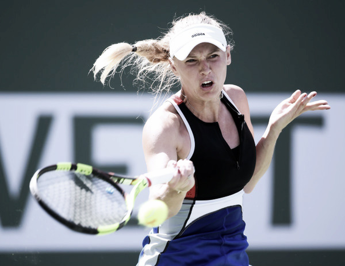 WTA Indian Wells: Caroline Wozniacki survives huge scare, beats Aliaksandra Sasnovich in three sets
