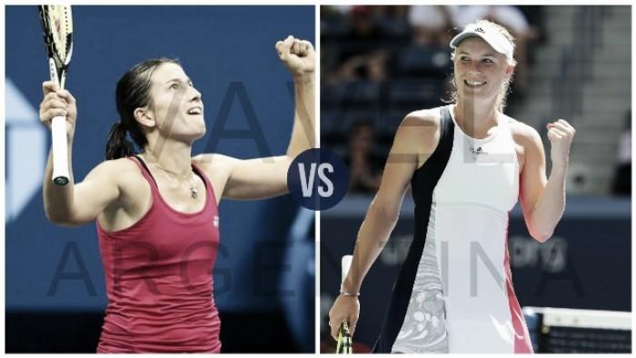 US Open: Wozniacki vs Sevastova