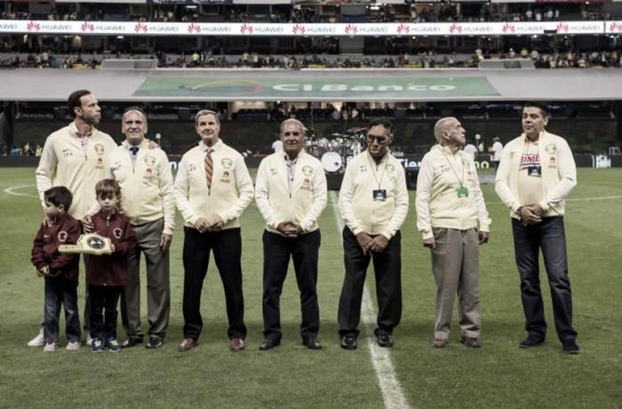 Delanteros históricos fueron reconocidos por el Club América