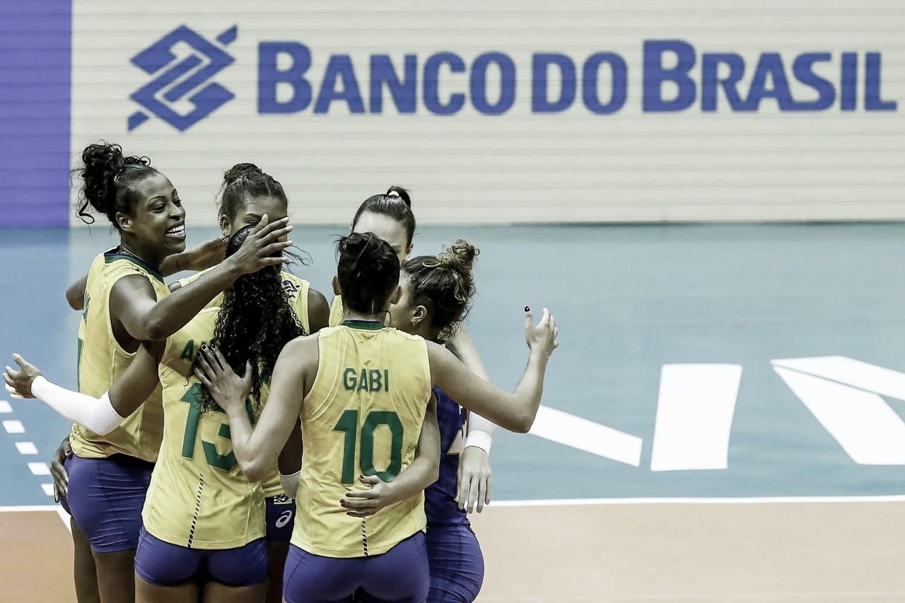 Brasil derrota República Dominicana e carimba passaporte para Olimpíadas de Tóquio