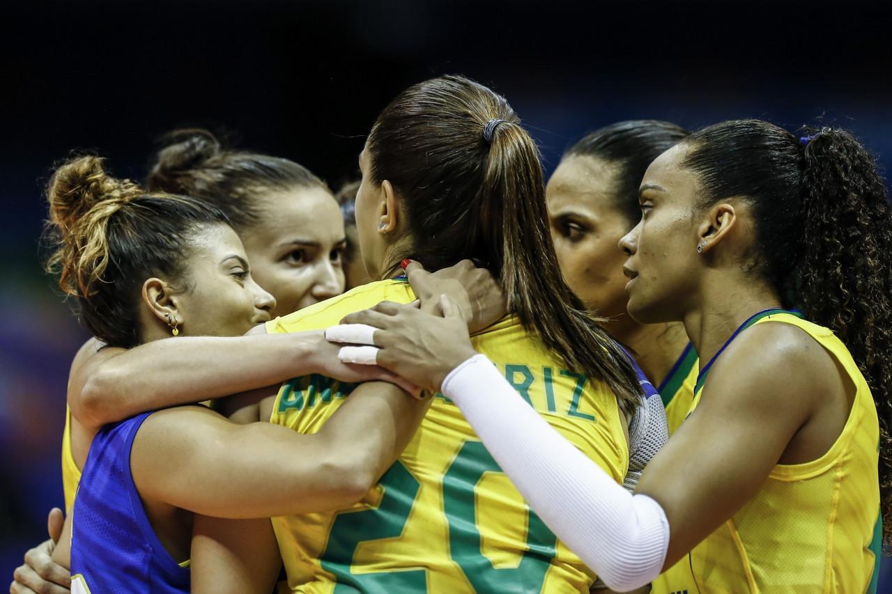 Em duelo de cinco sets, Brasil vence Holandade virada pela Liga das Nações