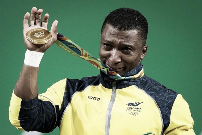 318 kilos de gloria: Óscar Figueroa es campeón olímpico de pesas