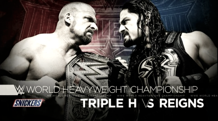 Vista al pasado: Triple H vs Roman Reigns; Wrestlemania 32