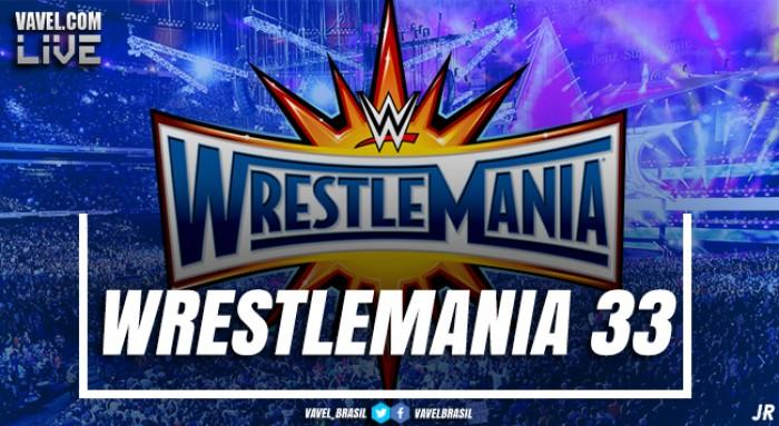 Resultados dos combates na Wrestlemania 33