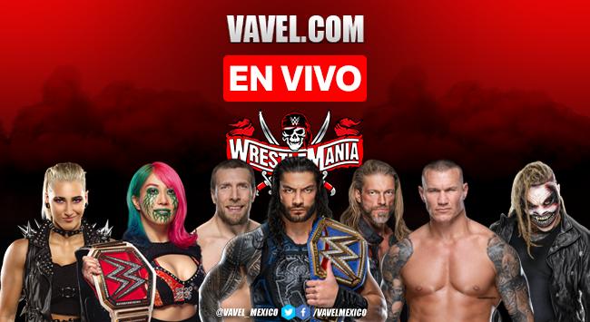 WWE Wrestlemania 37 Noche 2, Resultados y Resumen 2021