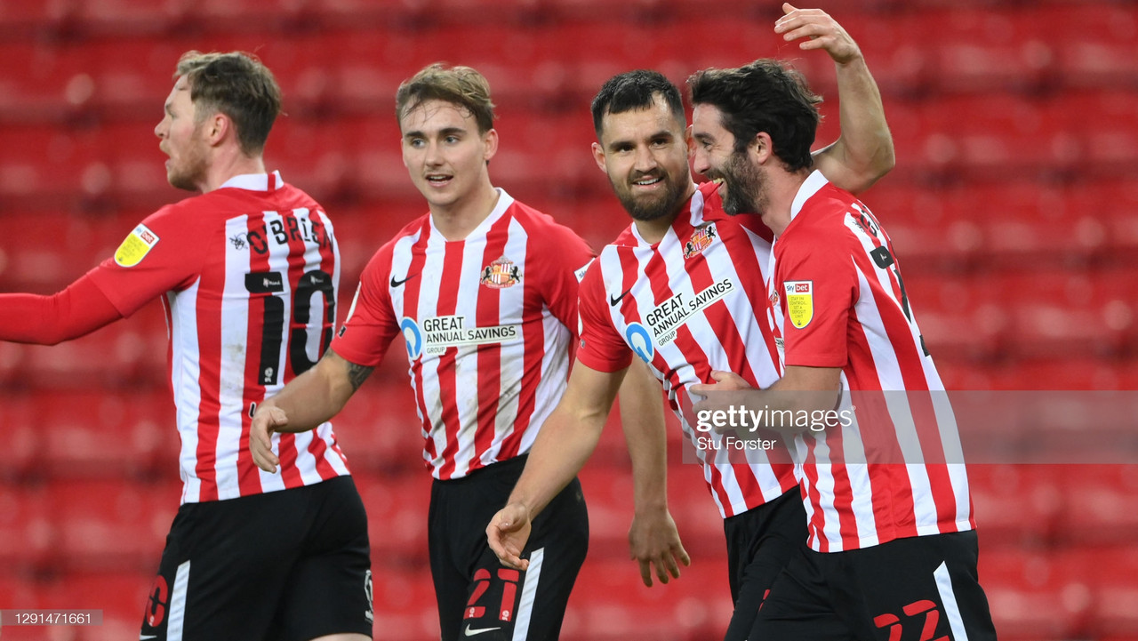 Sunderland 1-1 AFC Wimbledon: Wright volley salvages point for Black Cats