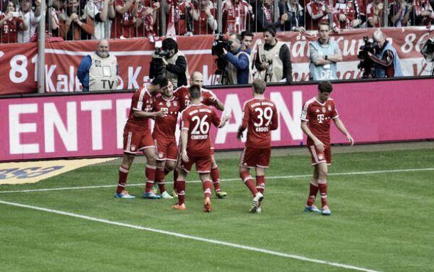 Jogando com time misto, Bayern goleia Freiburg em casa