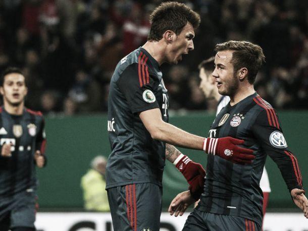 Goleadas marcam campanha do Bayern de Munique na DFB-Pokal 2013/14