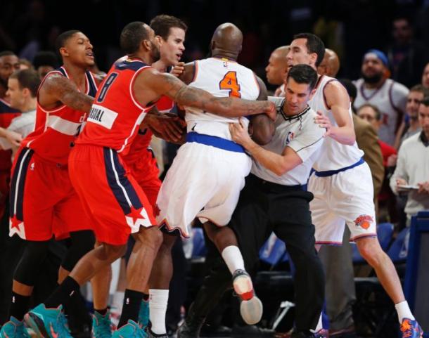 New York Knicks Fall Under Washington Wizards Spell