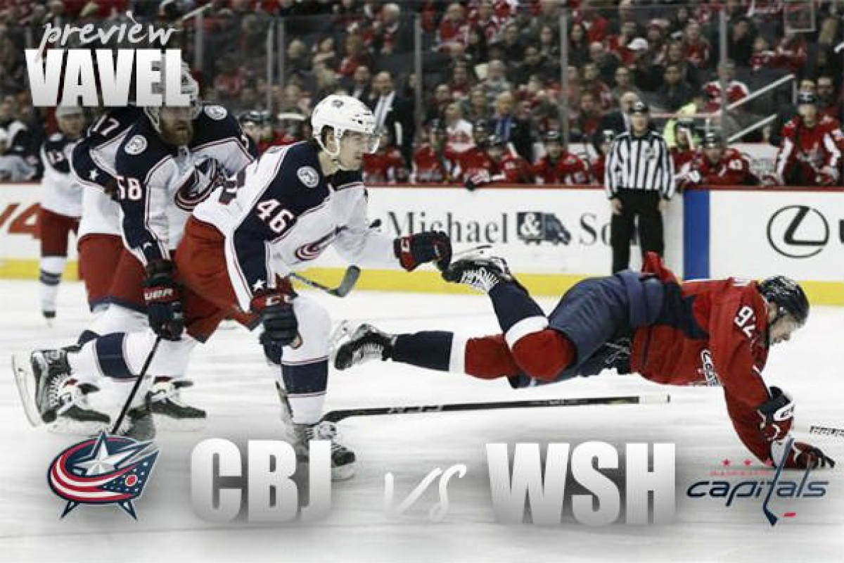 Washington Capitals vs Columbus Blue Jackets playoff preview