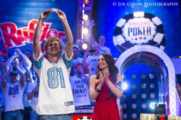 WSOP 2013: Ryan Riess es el nuevo Campeón del Mundo