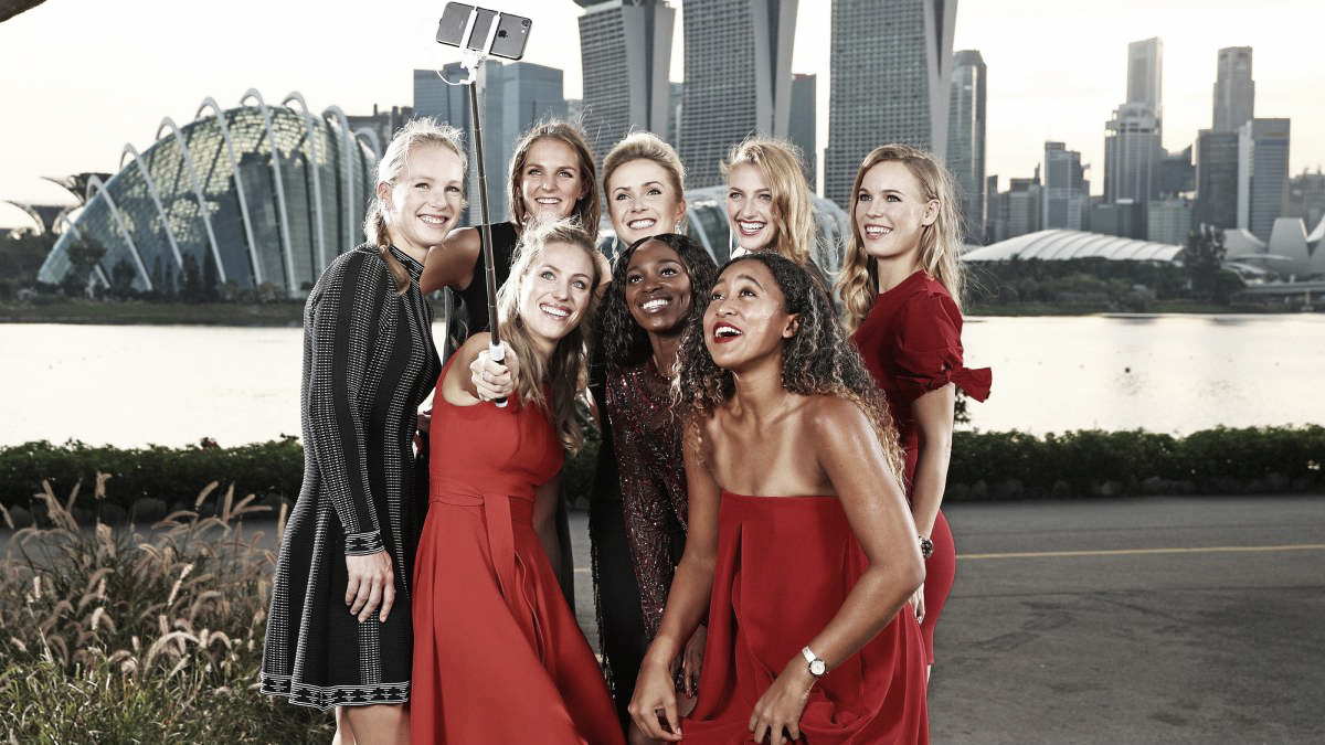 WTA Finals: Grupo Rojo y Grupo Blanco